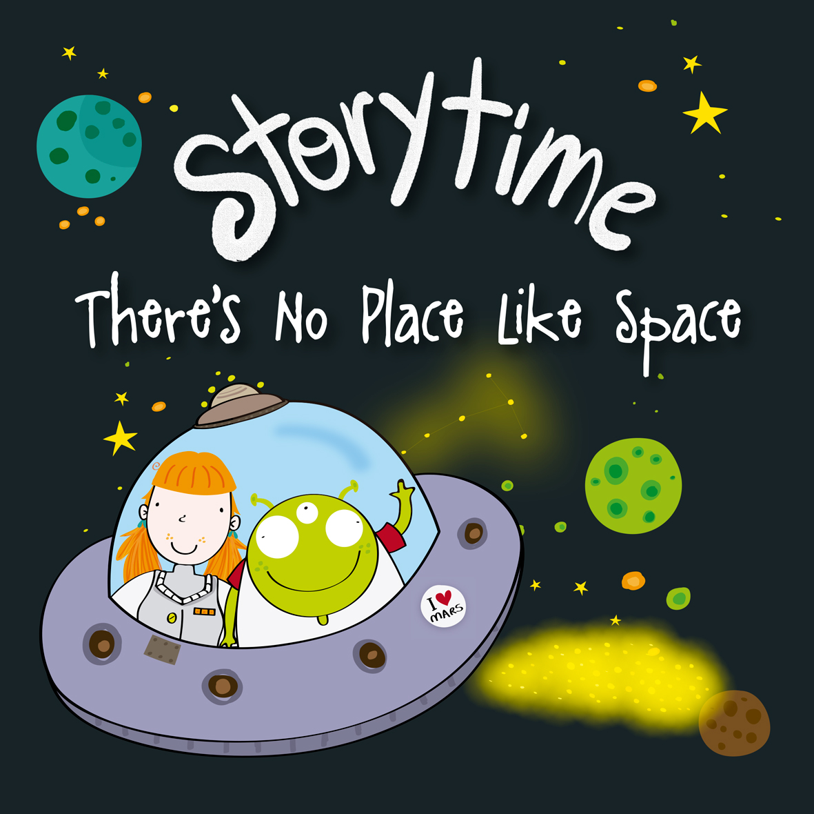 THERE´S NO PLACE LIKE SPACE